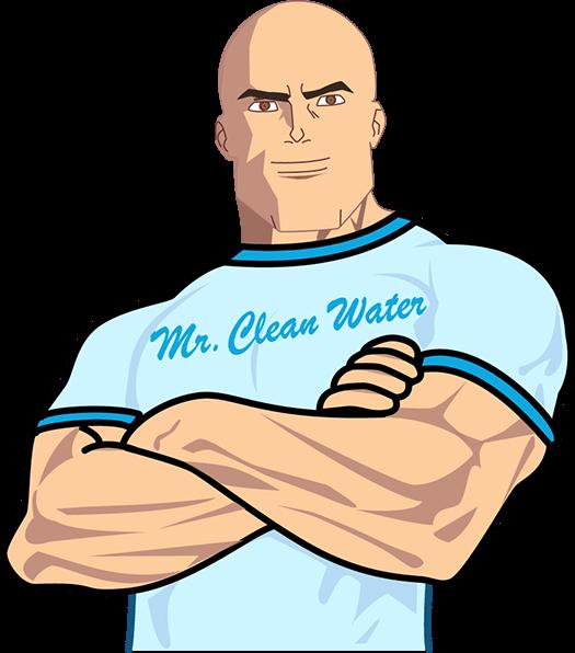 Mr. Clean water